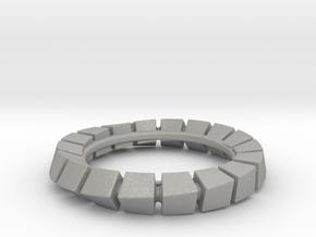 Cuboid Circognia in Aluminum