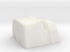 golem 1 cherryMX keycap in White Natural Versatile Plastic