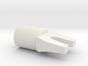 The Force Awakens Star destroyer Capacitor Fork de in White Natural Versatile Plastic