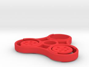 6 -50 Cent Display figdet in Red Processed Versatile Plastic