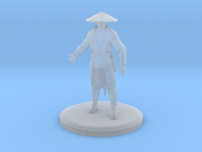 Raiden (MKX) in Smooth Fine Detail Plastic