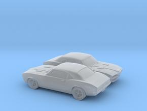1/160 2X 1967-68 Pontiac Firebird in Smooth Fine Detail Plastic