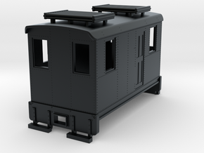 Hon30 short boxcab loco in Black Hi-Def Acrylate