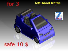 3x Smart cabrio (1/220) # in Frosted Ultra Detail