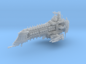 Dark Ship in Smooth Fine Detail Plastic
