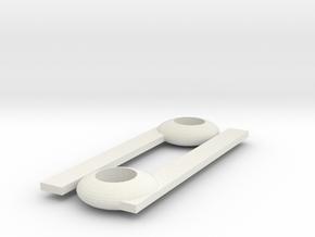 Cancer chopsticks in White Natural Versatile Plastic