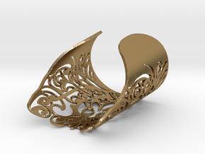 Complex_Bracelet S in Polished Gold Steel