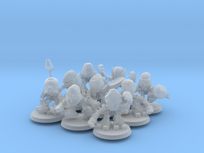 Tohunga Miniatures (for tabletop/display) in Smooth Fine Detail Plastic