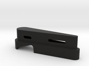 Flip it Off!!! Pinball bottle opener in Black Natural Versatile Plastic