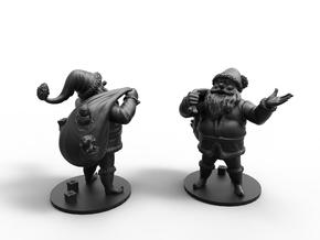 Santa Claus GIFTS in Smooth Fine Detail Plastic