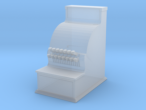 O scale cash register in Smoothest Fine Detail Plastic