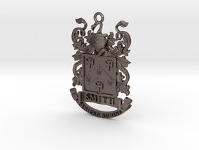 Smith Family Crest Pendant in Stainless Steel