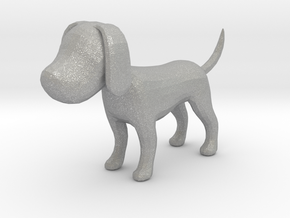 Yellow Earthy Dog in Aluminum