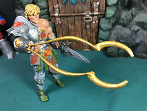 Snake Armor He-Man Clamp in Yellow Strong & Flexible Polished