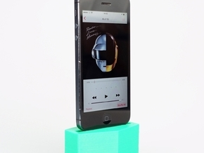 the monster mash coffin Iphone speaker in Full Color Sandstone