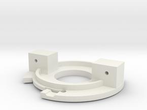 CEV headlamp lock ring in White Natural Versatile Plastic