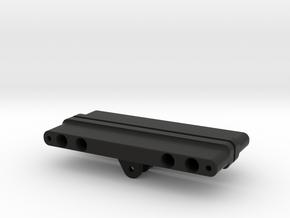 Vaterra Bronco Sub Frame Set for Radius Arm in Black Natural Versatile Plastic