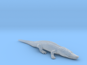 Alligator Relaxing in Smooth Fine Detail Plastic: 1:160 - N