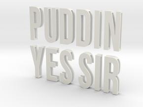 Sliding Letters - Complete SKWAD Harley Bundle in White Natural Versatile Plastic