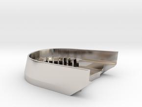 BoostedBoardV2_skid_plate in Platinum