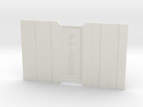 The Fives in White Premium Versatile Plastic