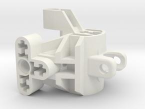 Mata Torso Upper Alt in White Natural Versatile Plastic