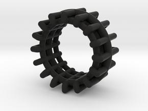 WIREFRAME in Black Premium Versatile Plastic: 8 / 56.75
