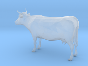 HO Scale Cow in Smooth Fine Detail Plastic