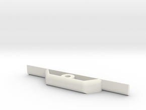 Glider_body - wing_support-1 in White Natural Versatile Plastic