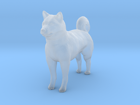 O Scale Husky in Smooth Fine Detail Plastic