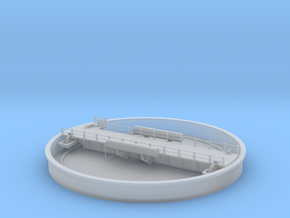 Locomotive Turntable & Well for N in Smooth Fine Detail Plastic