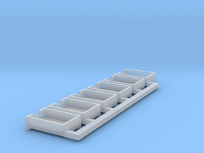 O scale drawers in Frosted Extreme Detail