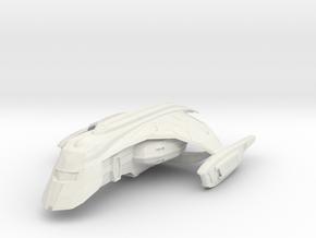 Rom Shuttle in White Strong & Flexible