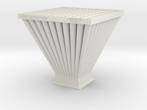Tray To Tray Design 3D-R02 22June2014 in White Natural Versatile Plastic