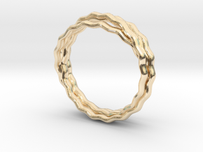 Plain Vine Ring in 14K Yellow Gold