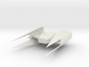 Kylo Ren's Tie Silencer in White Natural Versatile Plastic
