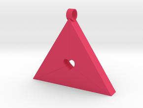 Eden tricolor in Pink Processed Versatile Plastic