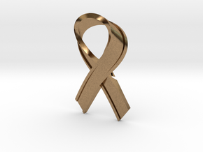 Yellow_Ribbon in Natural Brass