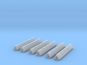 Railguns set in Smooth Fine Detail Plastic