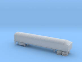 1/87 Transcraft Coverd Wagon in Smooth Fine Detail Plastic