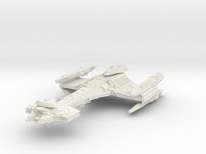 Klingon Reaper Class  BattleCuiser in White Natural Versatile Plastic