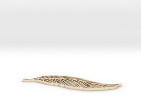 Feather_ultimate in 14K Yellow Gold: Extra Small