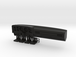 K5 Chevy Dashboard (Vaterra Asender) in Black Natural Versatile Plastic: 1:10