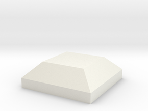 AT-AT Square in White Natural Versatile Plastic