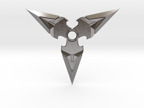Overwatch Genji Shuriken in Polished Nickel Steel