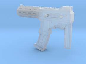 MP size auto machine gun in Smooth Fine Detail Plastic
