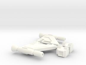 TR: Quickswitch Wings in White Processed Versatile Plastic
