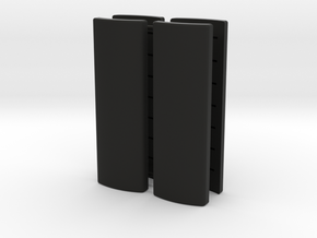 Praco-Bolsey grips (cheap version) in Black Premium Versatile Plastic
