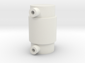 Mic base for Hasbro Poe helmet in White Natural Versatile Plastic