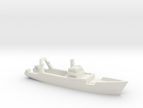 1/1200 Farnella trawler in White Natural Versatile Plastic